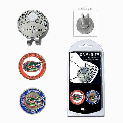 Team Golf Florida Gators Cap Clip & Magnetic Ball Markers