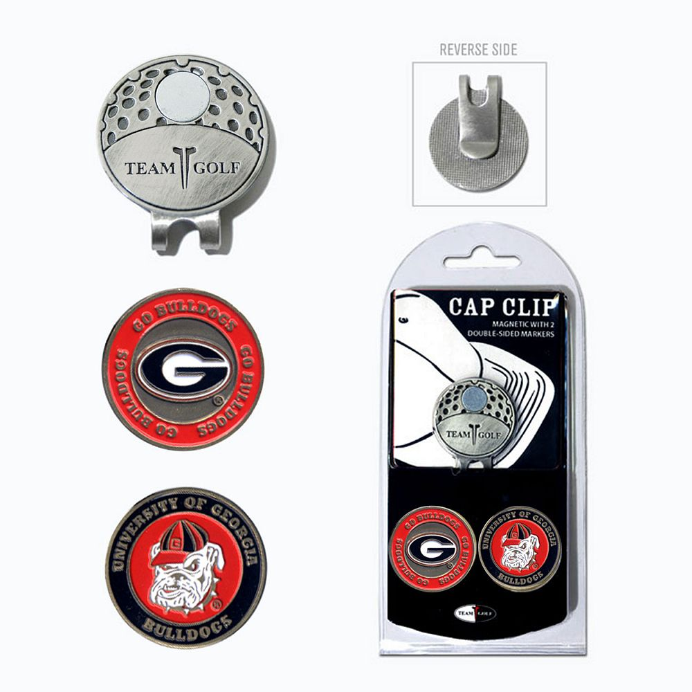 Team Golf Georgia Bulldogs Cap Clip & Magnetic Ball Markers