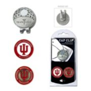 Team Golf Indiana Hoosiers Cap Clip & Magnetic Ball Markers