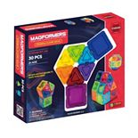 Magformers 30-pc. Clear Solid Rainbow Set