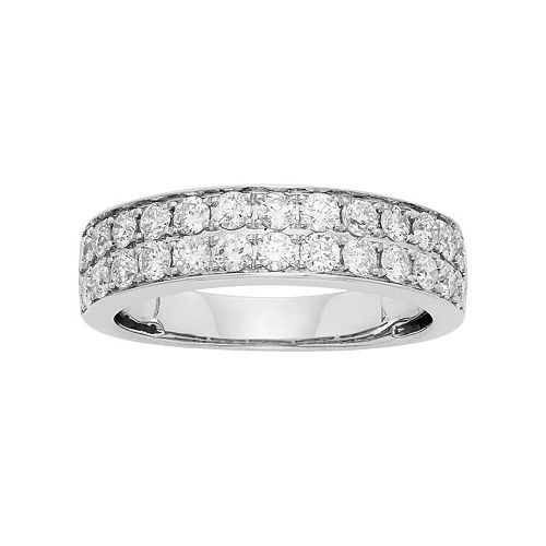 1 Carat T.W. IGL Certified Diamond 14k Gold Wedding Ring