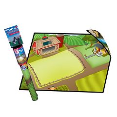Neat-Oh! Farmland 2-Sided Playmat & Toys Set