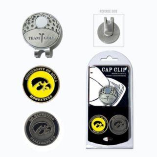 Team Golf Iowa Hawkeyes Cap Clip & Magnetic Ball Markers
