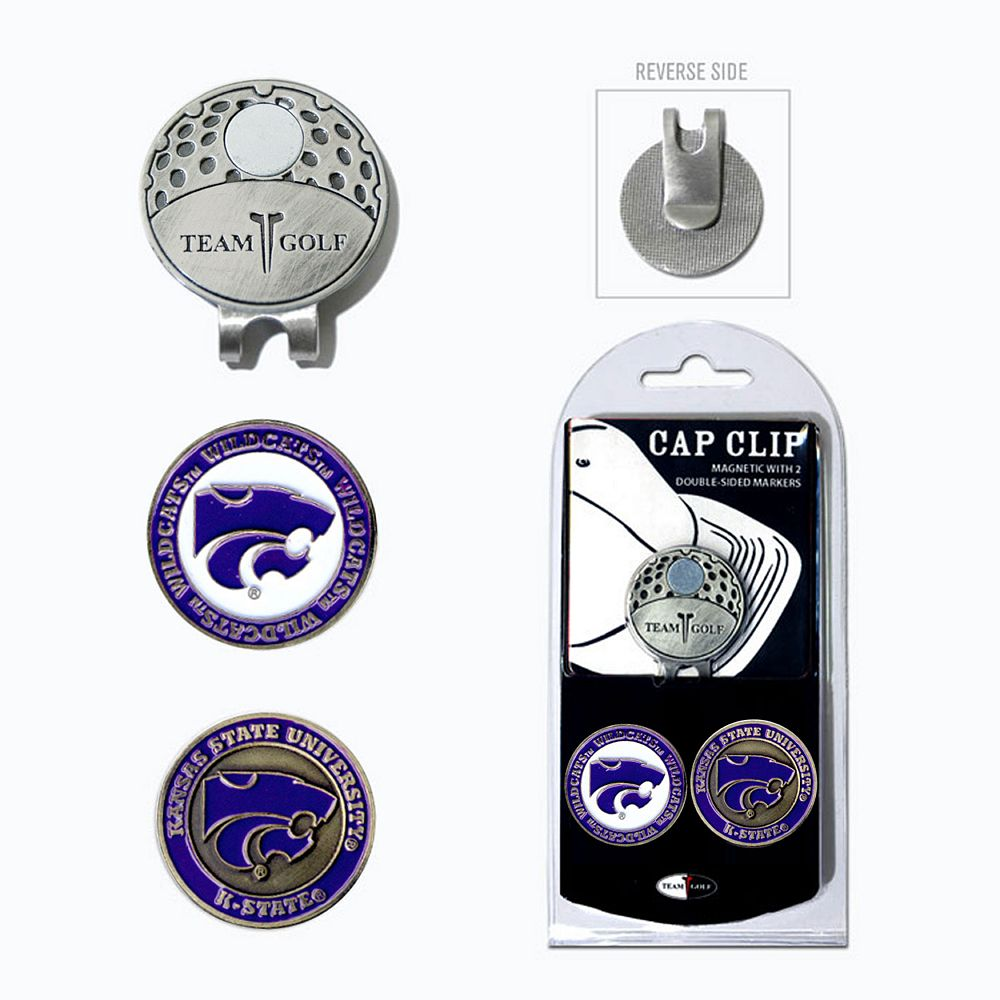 Team Golf Kansas State Wildcats Cap Clip & Magnetic Ball Markers