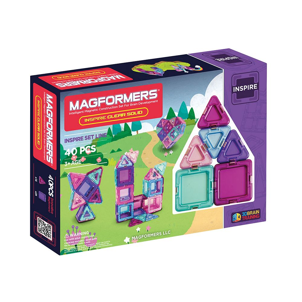 Magformers 40-pc. Inspire Set