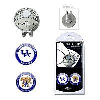 Team Golf Kentucky Wildcats Cap Clip & Magnetic Ball Markers