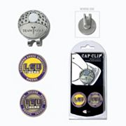 Team Golf LSU Tigers Cap Clip & Magnetic Ball Markers