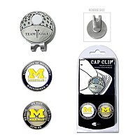 Team Golf Michigan Wolverines Cap Clip & Magnetic Ball Markers