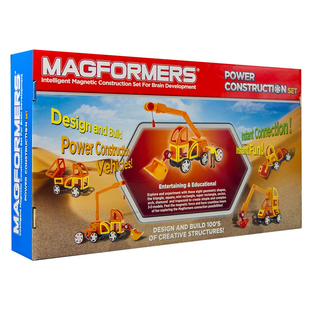 Magformers 47-pc. Power Construction Set