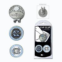 Team Golf North Carolina Tar Heels Cap Clip & Magnetic Ball Markers