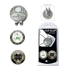 Team Golf Notre Dame Fighting Irish Cap Clip & Magnetic Ball Markers
