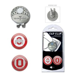 Team Golf Ohio State Buckeyes Cap Clip & Magnetic Ball Markers