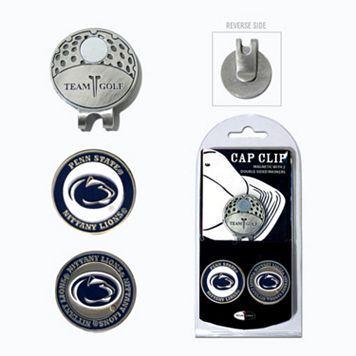 Team Golf Penn State Nittany Lions Cap Clip & Magnetic Ball Markers