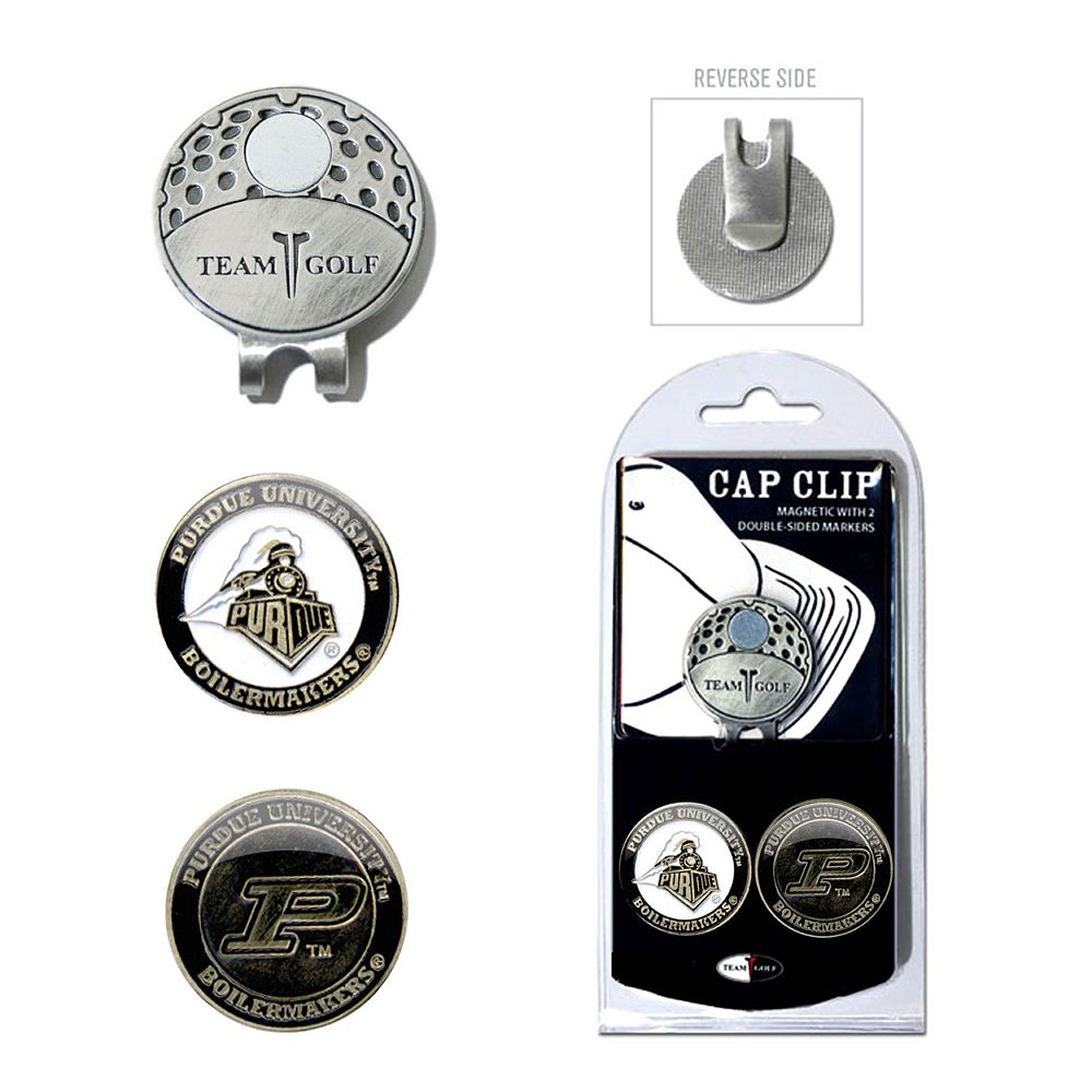 Team Golf Purdue Boilermakers Cap Clip & Magnetic Ball Markers
