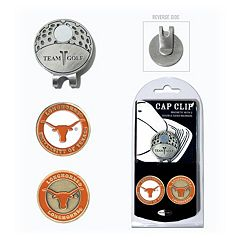 Team Golf Texas Longhorns Cap Clip & Magnetic Ball Markers