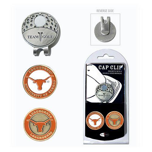 Team Golf Texas Longhorns Cap Clip & Magnetic Ball Markers