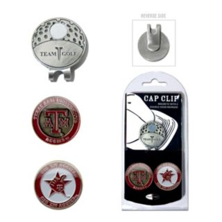 Team Golf Texas A&M Aggies Cap Clip & Magnetic Ball Markers