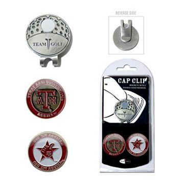 Team Golf Texas A&M Aggies Cap Clip & Magnetic Ball Markers