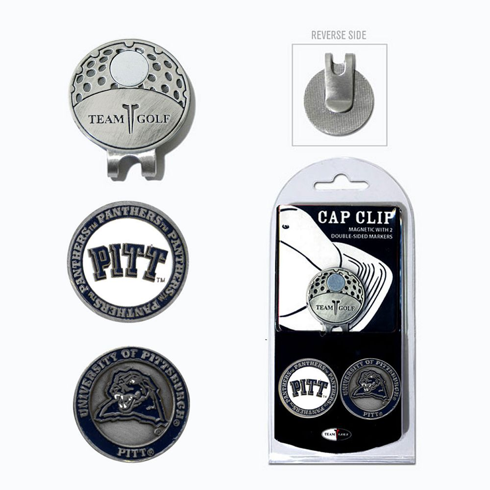 Team Golf Pitt Panthers Cap Clip & Magnetic Ball Markers