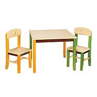 Guidecraft See & Store Table & Chairs Set