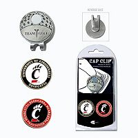 Team Golf Cincinnati Bearcats Cap Clip & Magnetic Ball Markers