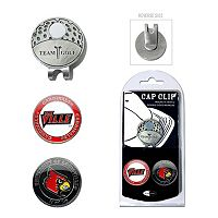 Team Golf Louisville Cardinals Cap Clip & Magnetic Ball Markers
