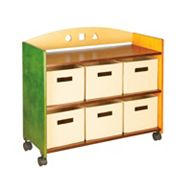 Guidecraft See & Store Rolling Storage Center