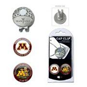 Team Golf Minnesota Golden Gophers Cap Clip & Magnetic Ball Markers