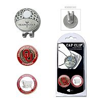 Team Golf Oklahoma Sooners Cap Clip & Magnetic Ball Markers