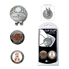Team Golf Oklahoma State Cowboys Cap Clip & Magnetic Ball Markers