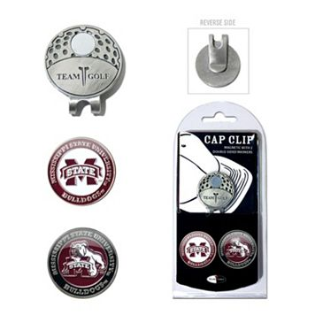 Team Golf Mississippi State Bulldogs Cap Clip & Magnetic Ball Markers