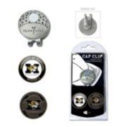 Team Golf Missouri Tigers Cap Clip & Magnetic Ball Markers