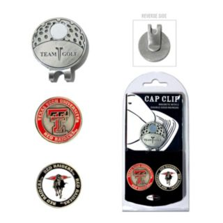 Team Golf Texas Tech Red Raiders Cap Clip & Magnetic Ball Markers