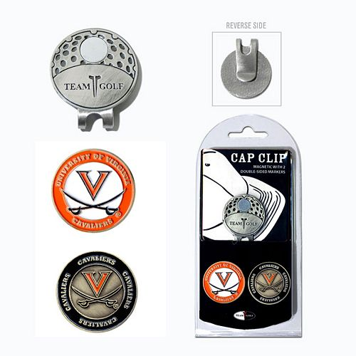 Team Golf Virginia Cavaliers Cap Clip & Magnetic Ball Markers