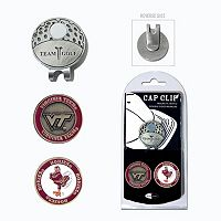 Team Golf Virginia Tech Hokies Cap Clip & Magnetic Ball Markers