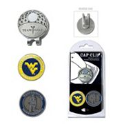 Team Golf West Virginia Mountaineers Cap Clip & Magnetic Ball Markers