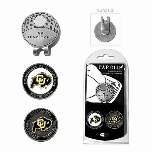 Team Golf Colorado Buffaloes Cap Clip & Magnetic Ball Markers