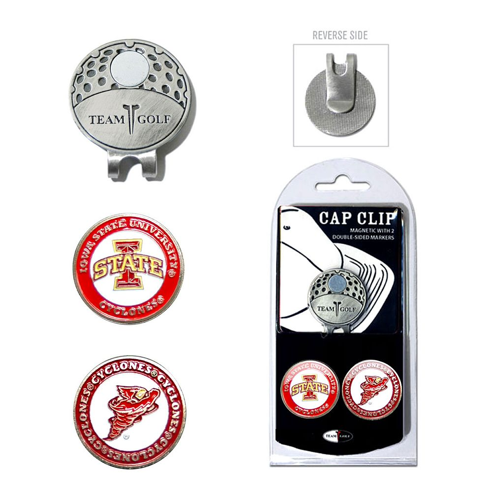 Team Golf Iowa State Cyclones Cap Clip & Magnetic Ball Markers