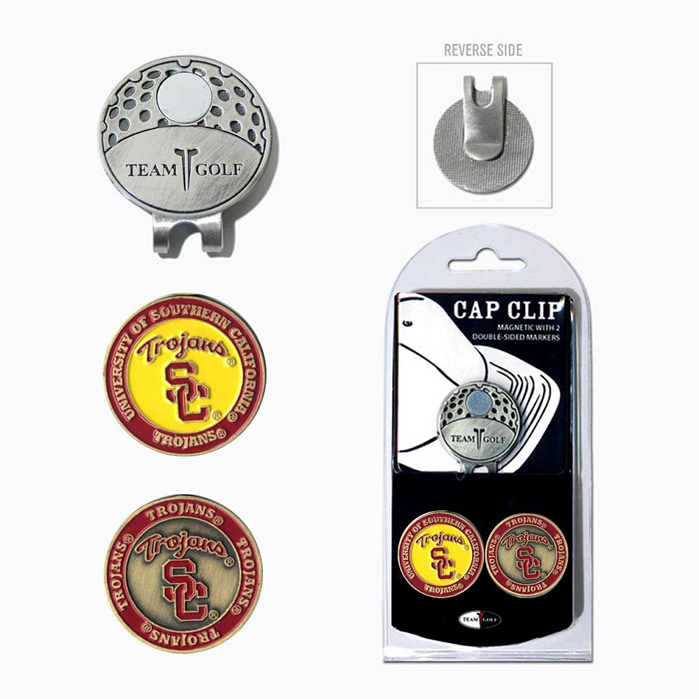 Team Golf USC Trojans Cap Clip & Magnetic Ball Markers