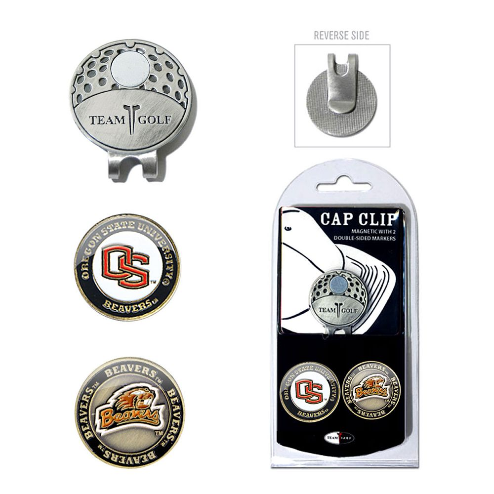 Team Golf Oregon State Beavers Cap Clip & Magnetic Ball Markers