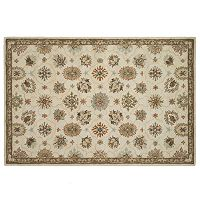 Loloi Fairfield Framed Floral Wool Rug