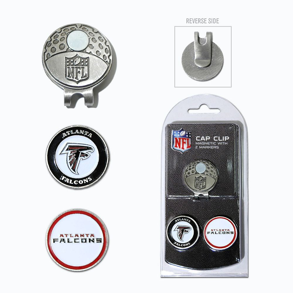 Team Golf Atlanta Falcons Cap Clip & Magnetic Ball Markers