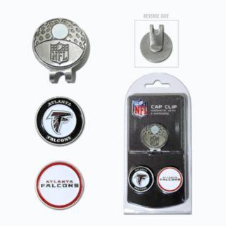 Team Golf Atlanta Falcons Cap Clip & Magnetic Ball Markers