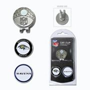 Team Golf Baltimore Ravens Cap Clip & Magnetic Ball Markers