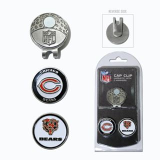 Team Golf Chicago Bears Cap Clip & Magnetic Ball Markers