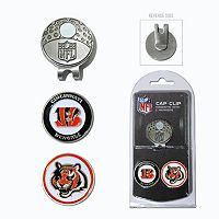 Team Golf Cincinnati Bengals Cap Clip & Magnetic Ball Markers