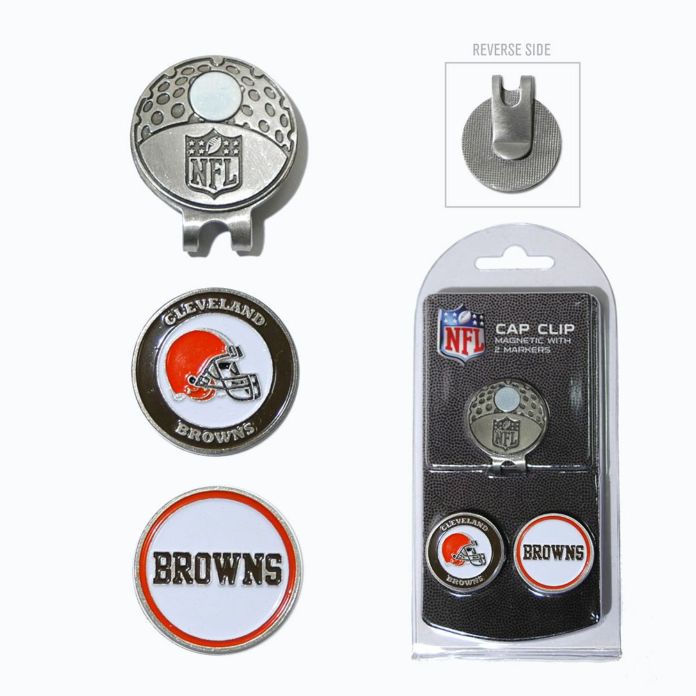 Team Golf Cleveland Browns Cap Clip & Magnetic Ball Markers