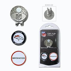 Team Golf Denver Broncos Cap Clip & Magnetic Ball Markers