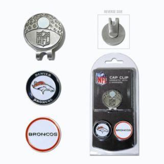 Team Golf Denver Broncos Cap Clip & Magnetic Ball Markers