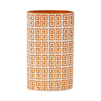 Elements Greek Key Ceramic Vase